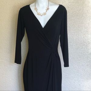 London Times Elegant Black Dress